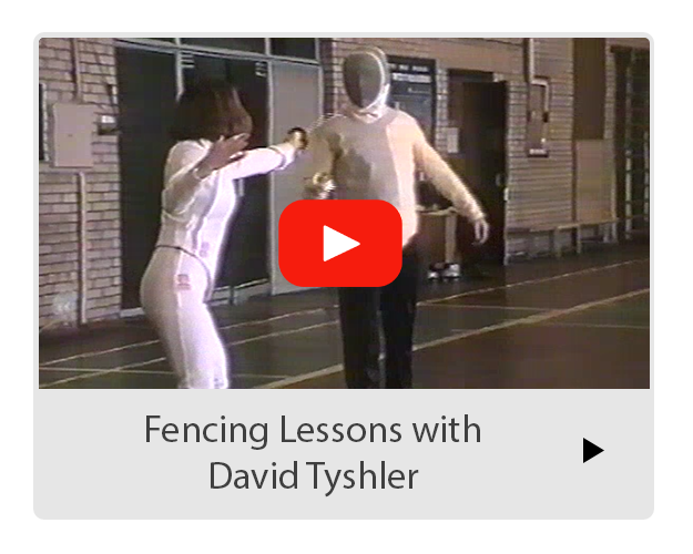Fencing Lessons with David Tyshler