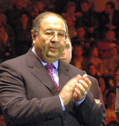World Championship visit from Alisher Usmanov to Leipzig