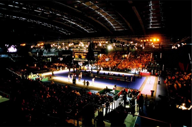 Center court World Championship 2005